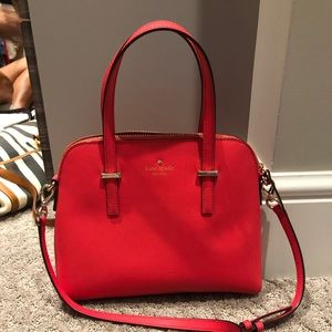 Late Spade Drive small Dome Satchel